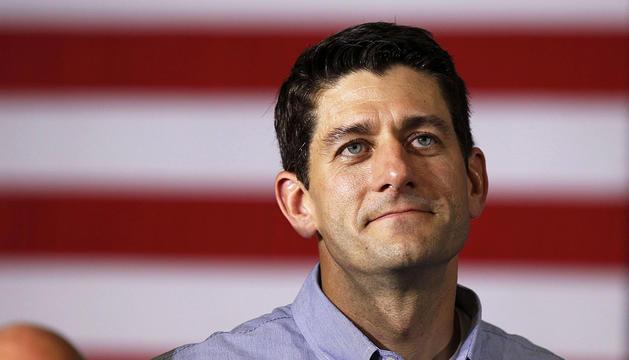 Imagen de junio de 2012 del congresista por Wisconsin, Paul Ryan.