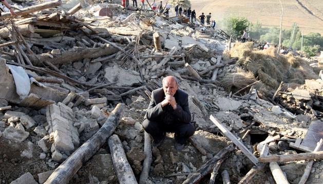 Este domingo en Irán, tras los terremotos
