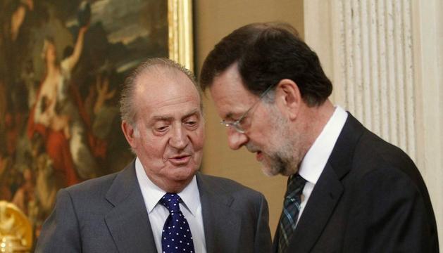 El Rey Rajoy, el pasado mes de julio