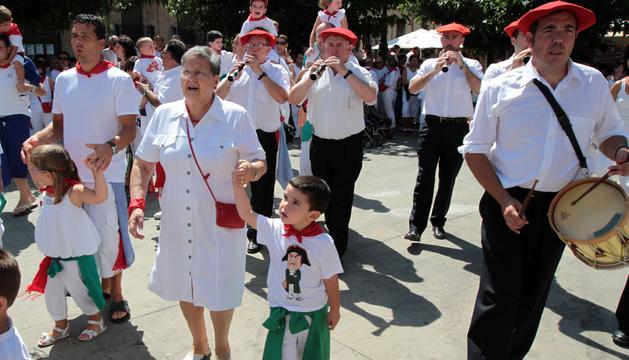 Imagen de las fiestas del año pasado de Tafalla