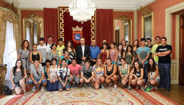 El alcalde, con los estudiantes, este martes
