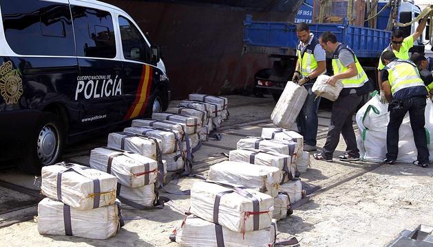 Operativo contra la droga en Cádiz