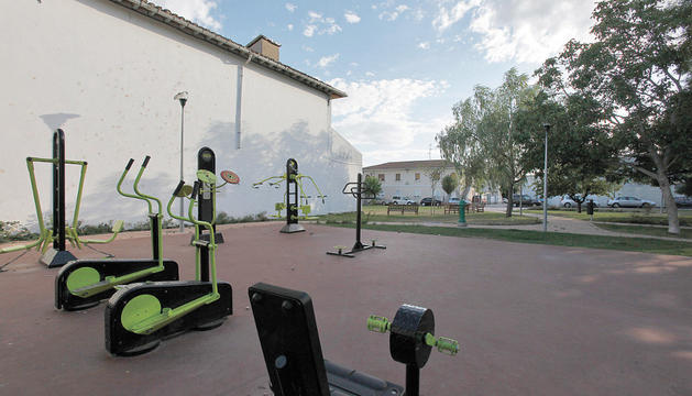 Parque entre las calles María Auxiliadora, Cuenca de Pamplona e Ibero donde se construirá el nuevo club de jubilados de la Chantrea