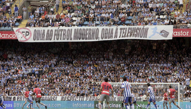 Osasuna ha perdido 2-0 este lunes con el Depor en Riazor, en el partido correspondiente a la 1ª jornada de Liga