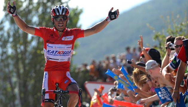 'Purito' afianzó su liderato tras lograr la victoria en Jaca