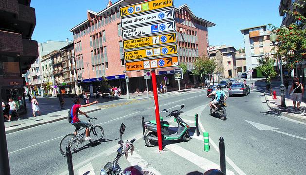 Tudela cambiar se ales err neas de la oficina de turismo for Oficina turismo tudela