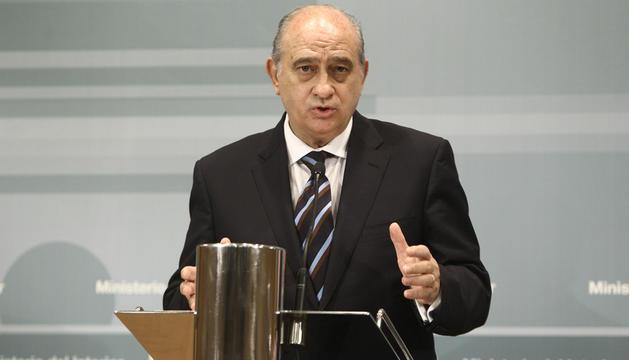 Jorge Fernández Díaz, ministro de Interior.