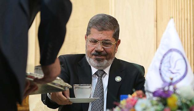 El presidente de Egipto, Mohamed Mursi, en la Cumbre de Países No Alineados