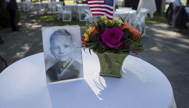Imagen de un homenaje realizado a Neil Armstrong en Ohio