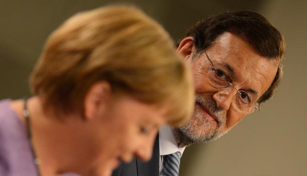 Merkel y Rajoy, este jueves