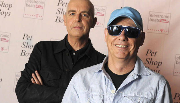 Neil Tennant y Chris Lowe, miembros del dúo Pet Shop Boys.