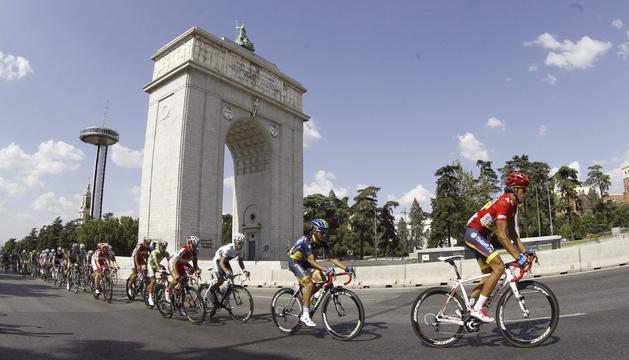 Contador, en Madrid