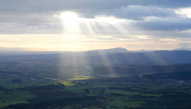 Nubes en Valdizarbe.
