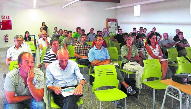 La jornada sobre biomasa se celebró este sábado en el remodelado convento de San Benito