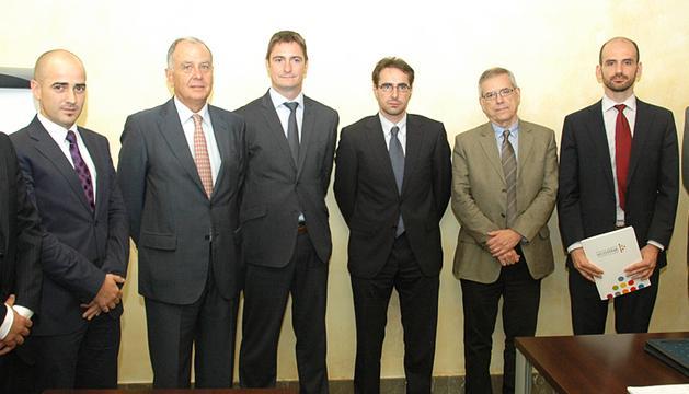 Imagen de la jornada en la Confederación de Empresarios de Navarra (CEN) organizada por Diario de Navarra con el patrocinio de Telefónica.