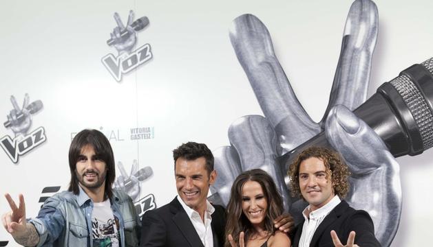 Equipo de 'La Voz' nuevo programa de Mediaset