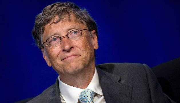 Bill Gates, el norteamericano más rico.