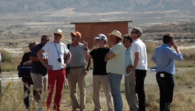 El director británico visitó ayer los lugares donde rodará 'The Counselor