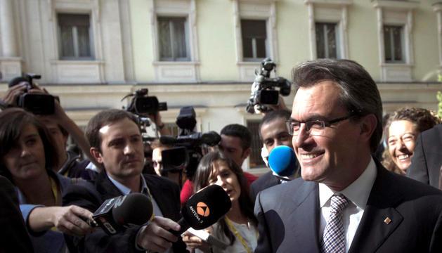 El presidente de la Generalitar, Artur Mas