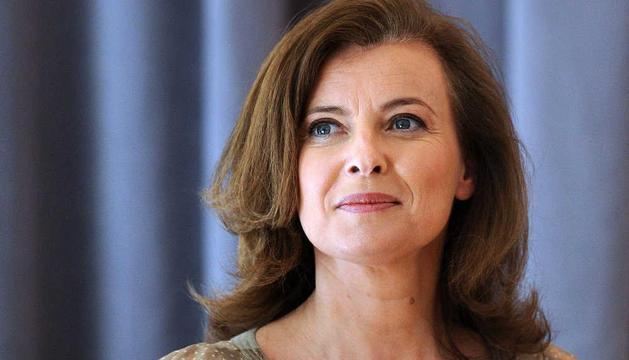 La primera dama de Francia, Valerie Trierweiler