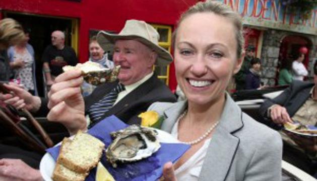 En el Festival Internacional de Ostras y Mariscos de Galway