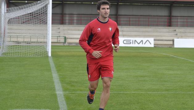 Marc Bertrán sigue con su proceso de recuperación en Tajonar