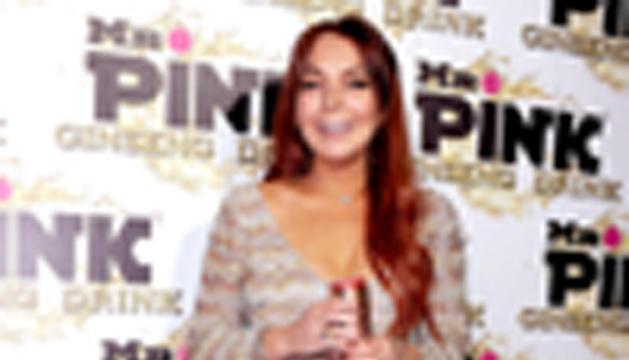 Lindsay Lohan con su nuevo look.