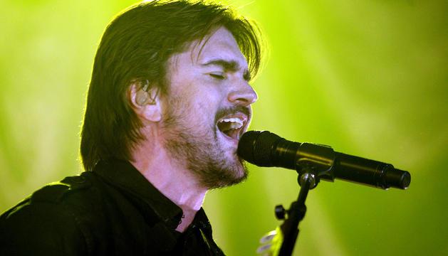 Juanes en el concierto en Madrid