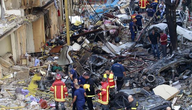 Tras el atentado en Beirut