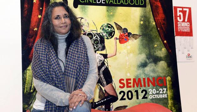 La cineasta india Deepa Mehta participa dentro de la sección oficial de la 57 Semana Internacional de Cine de Valladolid (Seminci), con la película