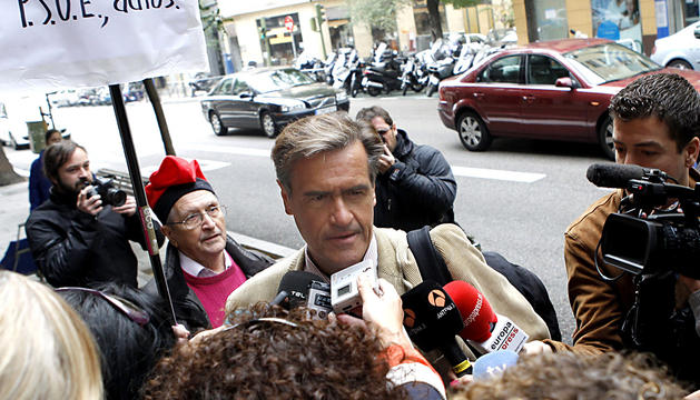 El eurodiputado socialista Juan Fernando López Aguilar