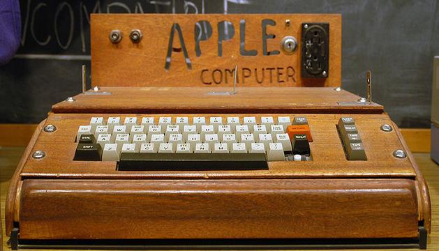 El Apple I fue uno de los primeros computadores personales.