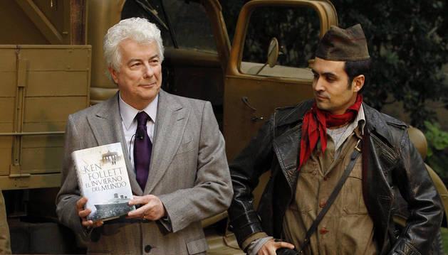 Ken Follett, durante la presentación del libro