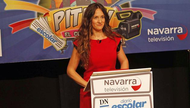 Yosuna Villanueva, presentadora de Pituti