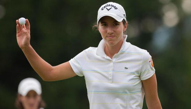 Carlota Ciganda lidera el torneo de Suzhou