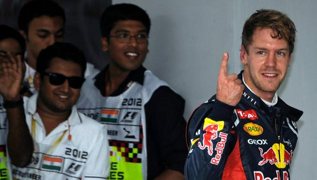 Sebastian Vettel ha logrado la 'pole' en el G.P. de la India