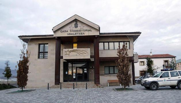 Fachada del ayuntamiento de Berrioplano