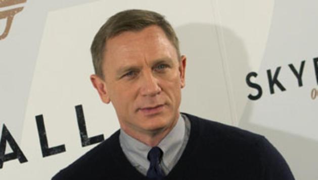 Daniel Craig durante la promoción de Skyfall
