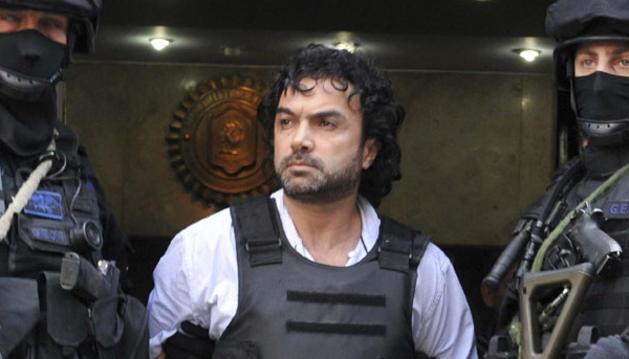 El narcotraficante colombiano Henry de Jesús López Londoño, alias