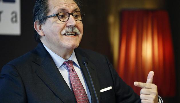 El presidente del Consejo Superior de Cámaras de Comercio, Manuel Teruel