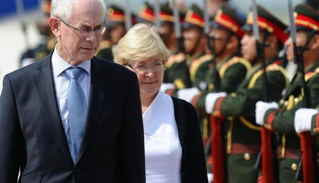 Herman van Rompuy, en Laos