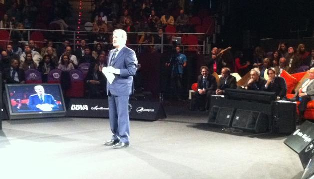 Manuel Campo Vidal, este martes, en el inicio del Congreso