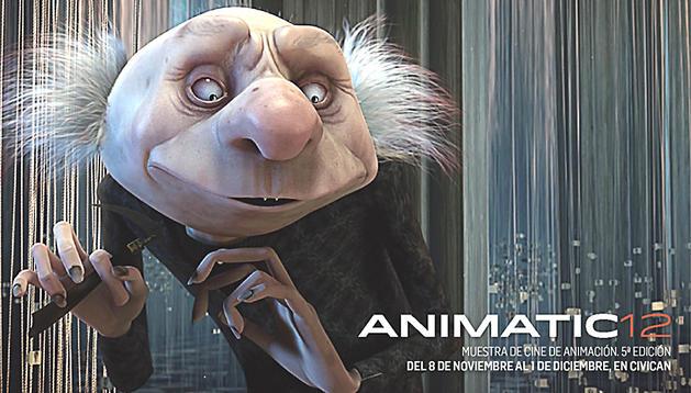 Cartel de la quinta edición de Animatic.