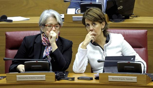 Barcina y Goicoechea, este jueves en el Pleno