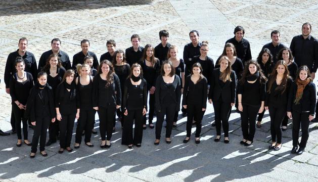 El coro juvenil