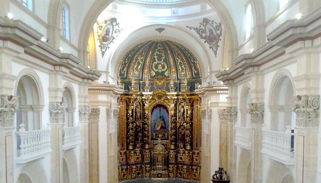 La iglesia de San Mateo de Lorca, gravemente afectada por los terremotos de 2011, reabrirá sus puertas el día 18