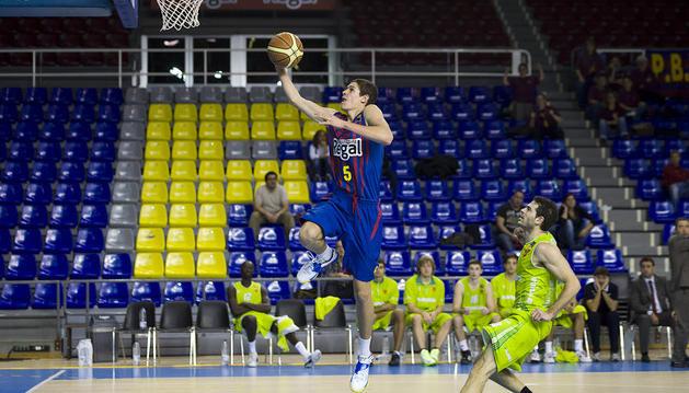 Planasa Navarra plantó cara al Barcelona B, pero no pudo lograr la victoria