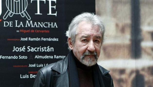 El actor José Sacristán, que estrena en el Teatro Español de Madrid la obra