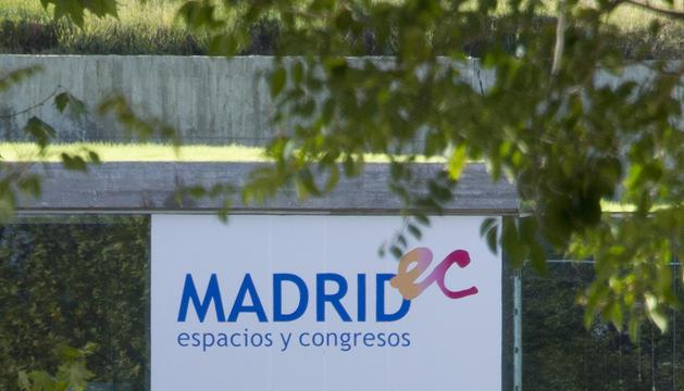 Recinto municipal donde se celebró al fiesta de Halloween en Madrid.