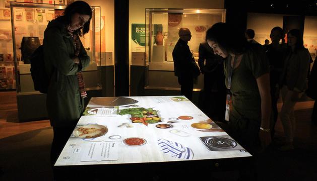 Exposición culinaria en el Museo Americano de Historia Natural de Nueva York.